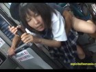 Jav Student Ambushed On A Bus Fucked Hard In Public Outrageous Scene