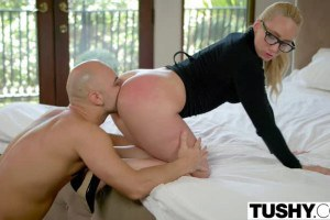 Tushy-AJ Applegate gets fucked by her boss