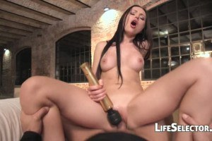 Enticing Russian babe Sasha Rose assfucked in POV