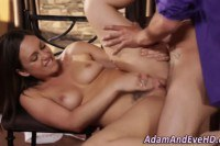 Sizzling hot baker babe fucked hard by the pastry chef