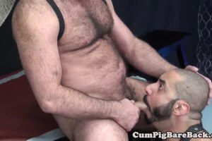 Rough gay hunks enjoy some sweet ass busting