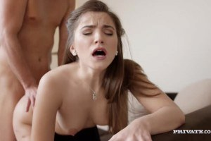 Gorgeous  Evelina Darling darling goes hard in private