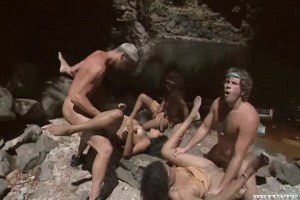 randy eighties mexican cuties pounded in backyard parties by the river