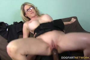 Angela Attison interracial anal sex after blowjob