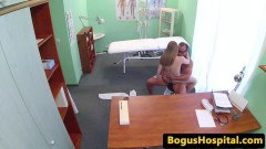 Russian patient dickriding medical dude after oral sex
