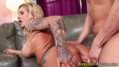 Busty alt mom moms tokus pounded by super lucky stud