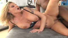 Sexy wife with massive hooters fucked by BBC