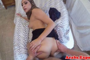 Arab newbie banged from behind before head