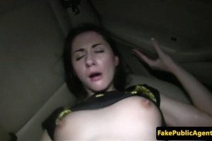 Pulled cocksucker cunt plowed pussy fucked in the car