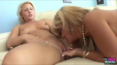 Crystal Jewels mature stepmom pleasuring Kimmy Olsen's pussy