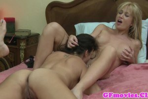 Angela Summers big breasted blonde sins with lesbian sex with Kobe Lee