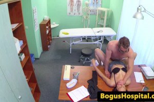 Eurobabe cleaner rubbed and banged by doc