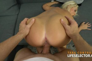Rossella Visconti curvy blonde hottie drilled in point of view