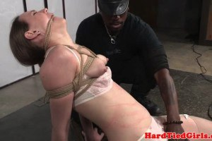 Maledom choke plays slave and dildos with vibrator