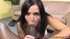 Aria Aspen picked up brunette hottie blows BBC POV style