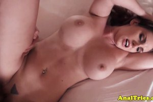 Lilith Lust big breasted redhead tries anal sex for the first time