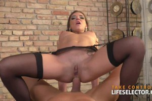 Henessy ultimate Eurobabe takes it in her anus