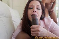 Chanel Preston MILF real estate agent makes wild sex faces while sucking black dick