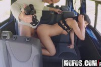 Bella Beretta European brunette picked up and fucked in the car