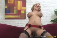 Dayna Vendetta busty cuckolding wife rides BBC