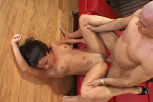 Honey house wife swinger tries out a new cock