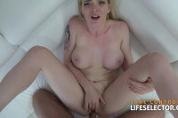 Big boobed hotties try out POV dick