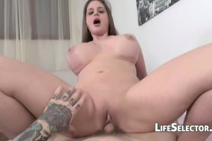 Cathy Heaven huge boobed mommy hammered POV