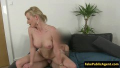 Sensual eurosex porn casting girl cocksucks talent scout before pounding