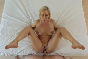 Brandi Love blonde mature sucks and fucks like a pro