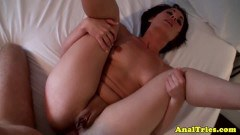 Curvy girlfriend fucked in the butt on vacation