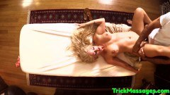 Holly Heart big boobed MILF screwed by masseur