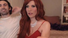 Redhead wife screwed on cam by naughty hubby