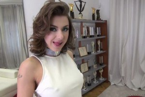 Sandra Wellness hot Russian debutante anally pounded in casting with Rocco Siffredi