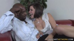 Bobbi Starr is about to take a big black cock up the ass
