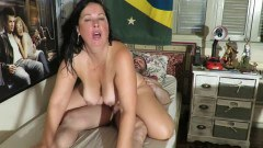 Chubby Brazilian wife properly fucked by hubby