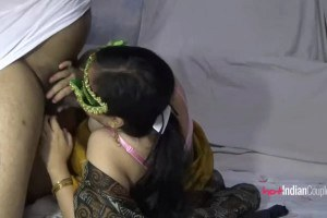 Indian wife Velamma can't get enough cock