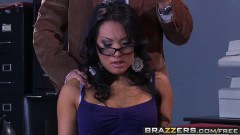 Asa Akira Asian phd student is about to get ass fucked by Dr. Blue