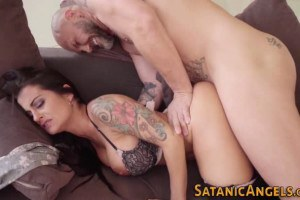 Mesmerizing Spanish MILF with large breasts passionately fucked by Nacho