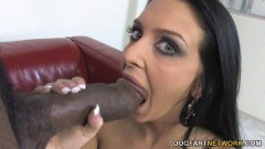 Stephanie Cane takes her first giant black dick