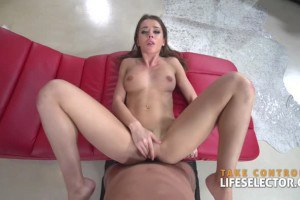 Hot chick contestant Sybil opens up and plows pov