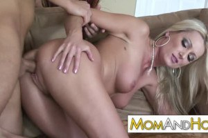 Dianna Doll playful MILF pays for the tickets with her pussy