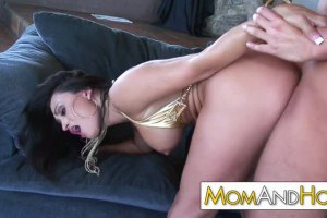 Claudia Valentine hottest mom gets tamed with rough sex