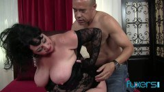 Alexis Couture BBW goddess loves a throbbing cock