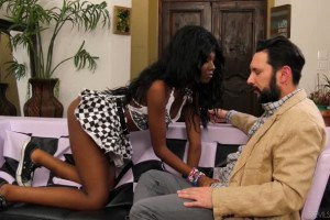 Daizy Cooper fucks her white step-daddy