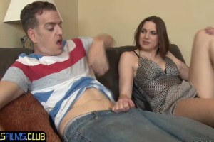 Valerie Voxx is curious about stepson's big cock