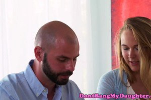 Alyssa Cole gets pounded by dad's best friend
