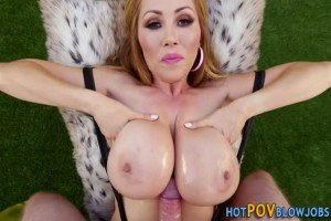 Pov titty fucking from Asian MILF Kianna Dior