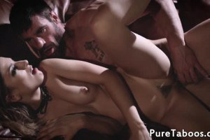 Cherie DeVille and Kristen Scott get pounded by horny perv