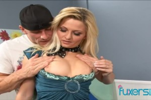 Sexy blond MILF Bobbi Eden loves to get screwed