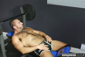 Milf wolf cock sucking snake after workout